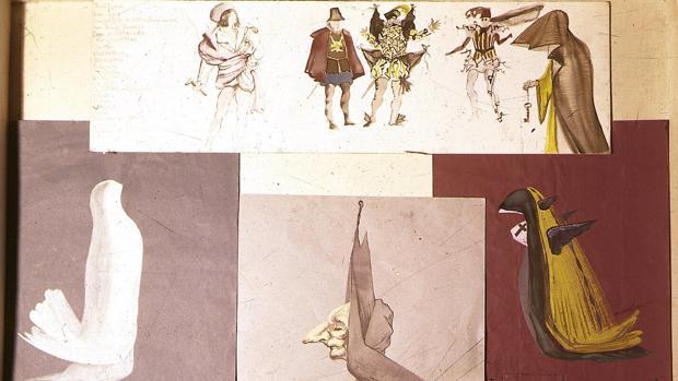Figurines de Dalí para Tenorio
