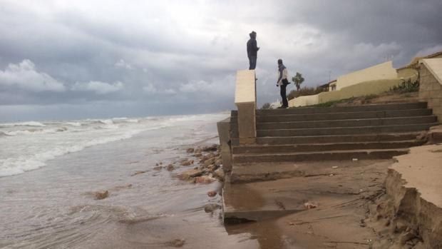 Imagen del estado de la playa