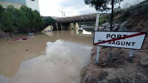 La Comunidad Valenciana sigue en alerta por fuertes lluvias por tercer día consecutivo