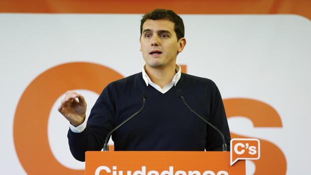 El presidente de Ciudadanos, Albert Rivera,