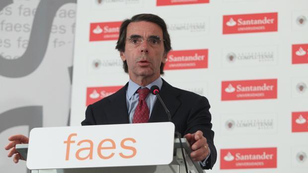 El expresidente del Gobierno acordó en septiembre desvincular la Fundación que preside del Partido Popular (PP)