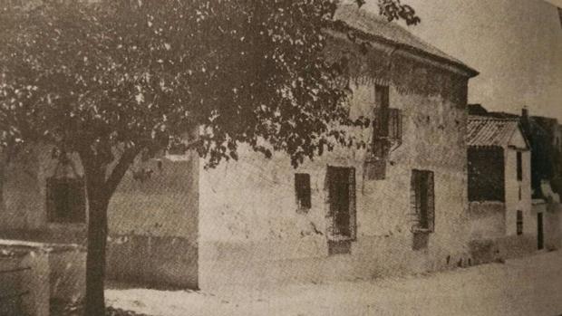 Calle Astrana Marín, donde se encontraba esta casa, en la que realmente vivió Cervantes con su esposa Catalina
