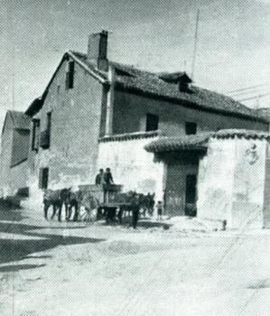 Típica casona de labradores que alberga en la actualidad la Casa-Mueso de Cervantes