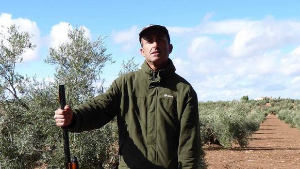 El cazador castellano-manchego Florentino Parreño, campeón autonómico