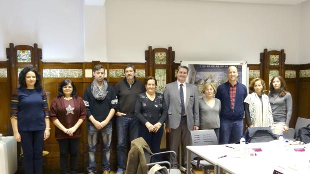 Imagen del Comité de Clientes, en la reunión de esta mañana