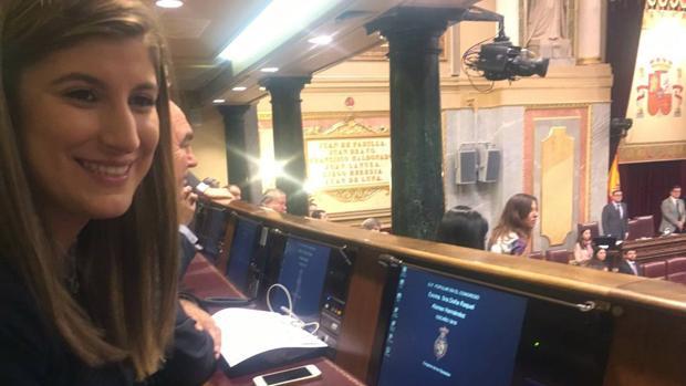 La vallisoletana Raquel Alonso, la diputada más joven del congreso
