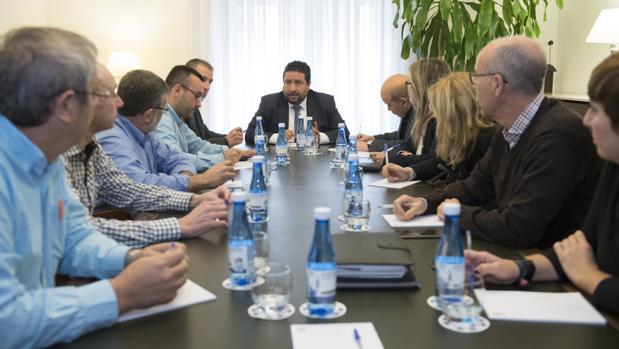 Imagen de la Junta de Portavoces de la Diputación de Castellón