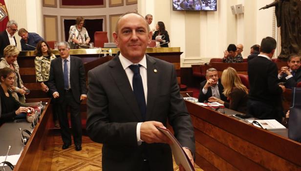Ramiro González, diputado general de Álava