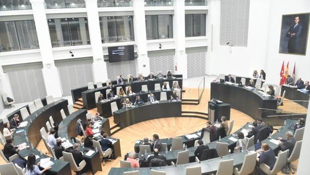 El pleno del Ayuntamiento de Madrid, este martes
