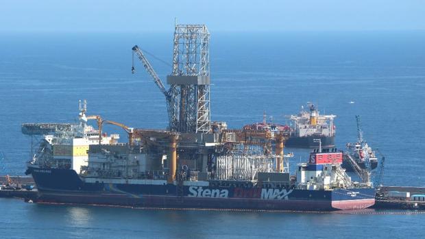 Stena DrillMax, basado en el puerto de Las Palmas
