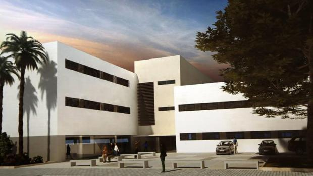 Centro de salud de Benalúa, en Alicante