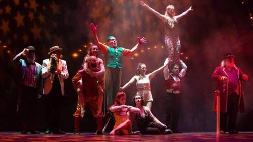 Espectáculo «Orinoco» del Circo Gran Fele