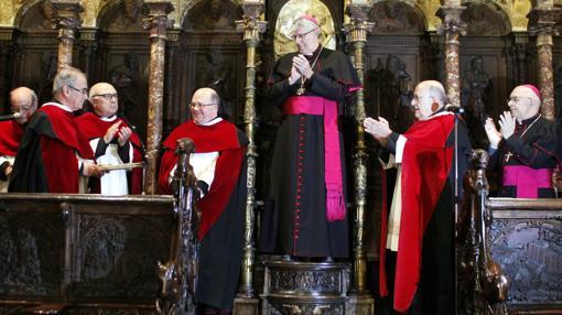 El arzobispo presidió la ceremonia en la catedral de Toledo