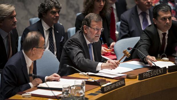 Rajoy ya presidió una sesión del Consejo de Seguridad en octubre de 2015