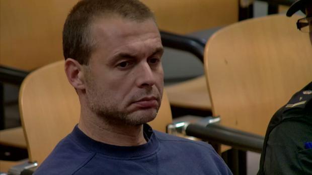 El presunto pederasta, en una imagen de archivo del juicio