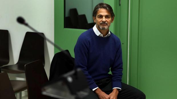 Oriol Pujol, durante el juicio
