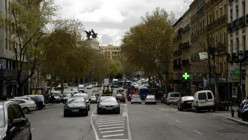 El tráfico de la calle Atocha