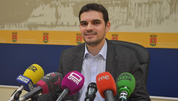 Santiago Serrano, portavoz del equipo de gobierno de Talavera