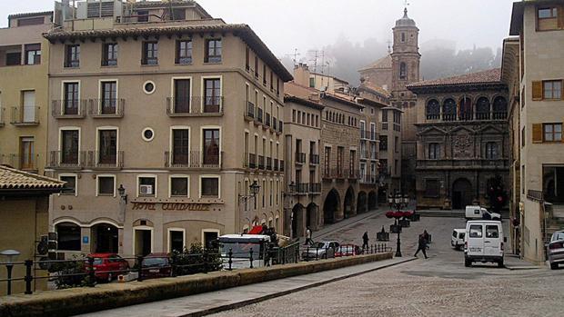 Vista de la localidad turolense de Alcañiz