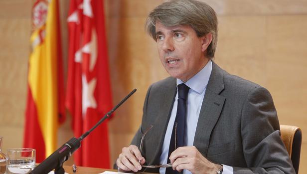 Ángel Garrido, portavoz del Gobierno regional de Madrid