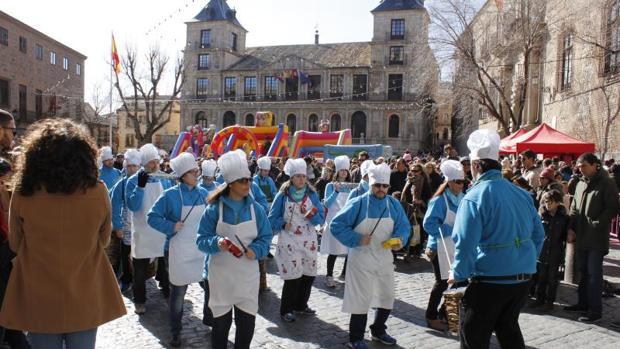 En enero se celebró una degustación de carcamusas en la plaza de Zocodover