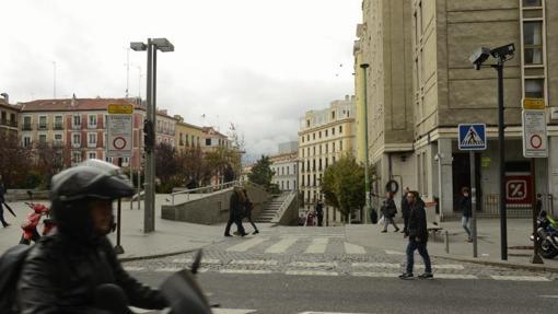 La plaza de Santo Domingo