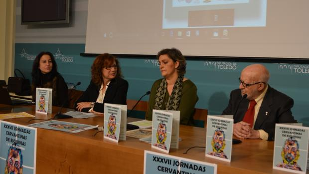 Susana García, Milagros Del Barrio, María Ángeles García y José Rosell