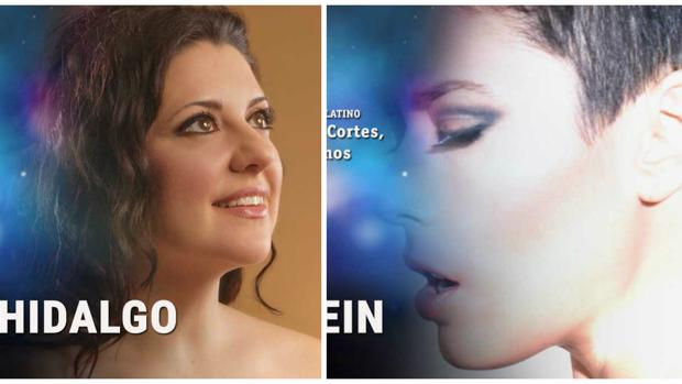 Las dos candidatas, Nieves Hidalgo (derecha) y LeKlein (izquierda)