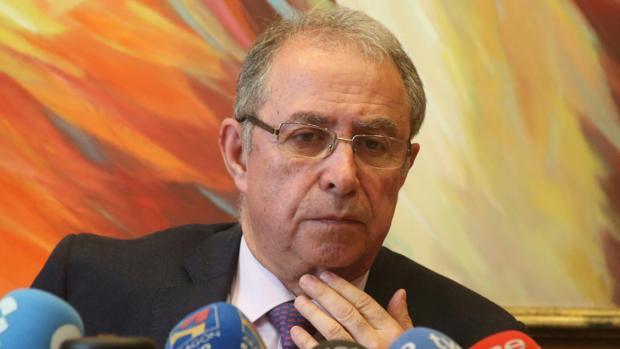 Fernando Gimeno, consejero aragonés de Hacienda