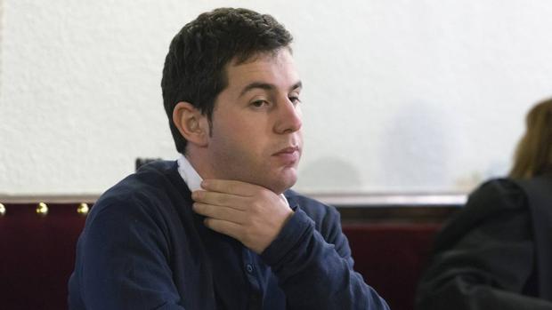 El acusado, Francisco Javier García Organista, en la Audiencia Provincial de Ávila