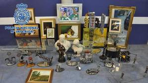 Recuperan obras de arte por valor de 1,2 millones de euros robadas en Móstoles