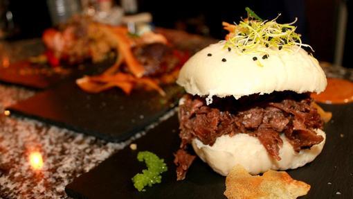 Imagen de uno de los platos del nuevo restaurante «A Contracorriente» en Valencia