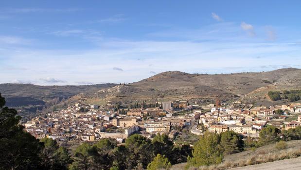 Vista panorámica de la localidad guadalajareña de Pastrana