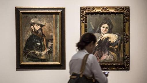Obras de Ignacio Pinazo en la exposición en Valencia