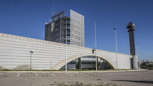 Imagen de las instalaciones de la antigua RTVV
