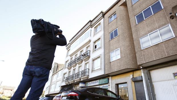 Vivienda de Arteixo (La Coruña), donde vivía uno de los detenidos