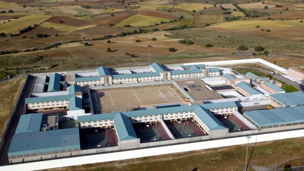 Vista aérea de la cárcel de Navalcarnero