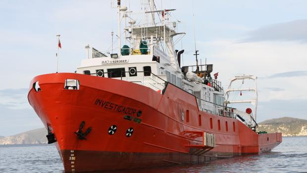 El buque gallego que hizo tareas de apoyo a Kosmos Energy en Mauritania en 2015