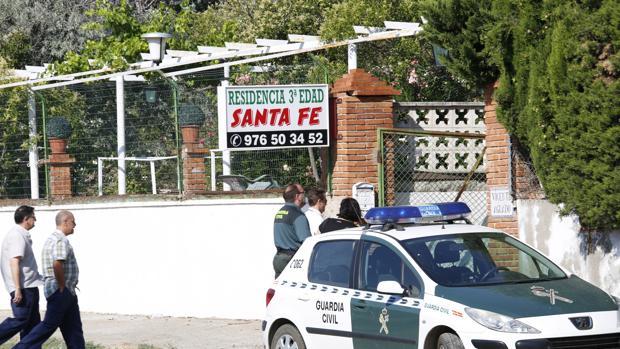 La zaragozana residencia Santa Fe, donde se produjeron los hechos, en julio de 2015