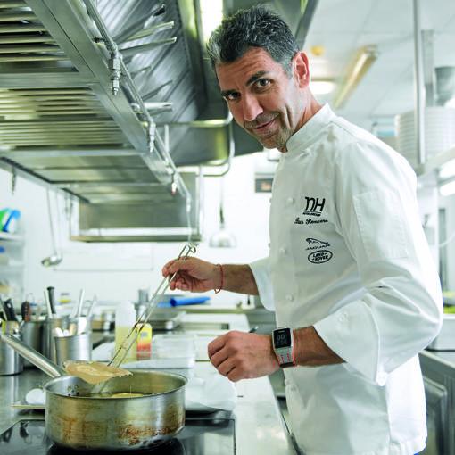 Paco Roncero, en sus cocinas