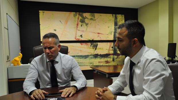 Hugo Dosil y Ravi Chhabria, directivos de Fund Grube