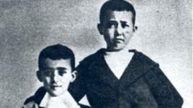 Franco durante su infancia