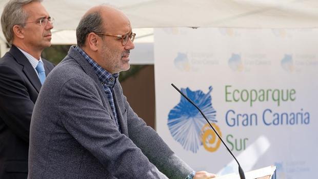Juan Manuel Brito en un acto público el pasado mes de diciembre