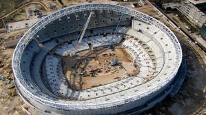 El Wanda Metropolitano se inaugurará en septiembre