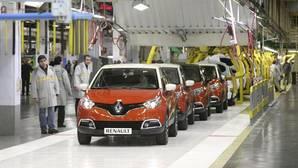 Cadena de Montaje de Renault Captur, en la factoría de Valladolid