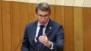 Feijóo, este martes en la tribuna del Parlamento gallego