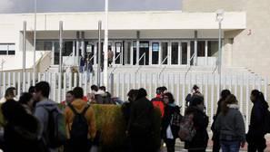 Imagen del instituto en el que se produjo la agresión