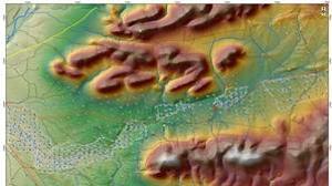 El mapa indica el lugar donde se pretende realizar la extracción de tierras raras