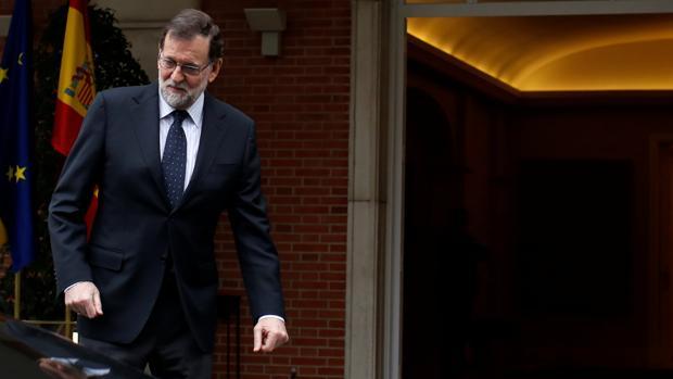 Mariano Rajoy, en la Moncloa en una imagen de archivo
