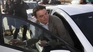 Josep Antoni Rosell, tras su declaración ante el juez